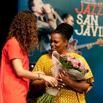 Eventos en Plural con el protocolo y personal de sala en Festival Jazz San Javier