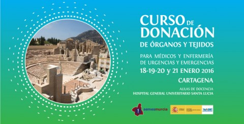 Curso de donación de órganos y tejidos
