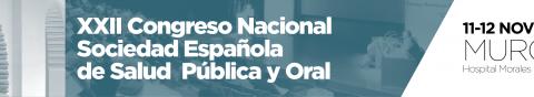 SESPO 2016 – Congreso Nacional de la Sociedad Española de Epidemiología y Salud Pública Oral